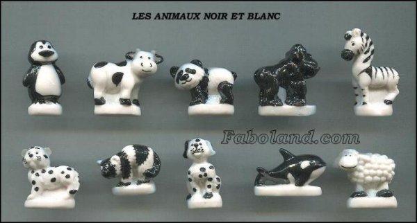 """Recherche la collection """"Les Animaux Noir et Blanc"""""""