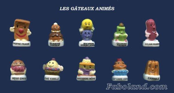 """Recherche la collection """"Les Gâteaux Animés"""""""