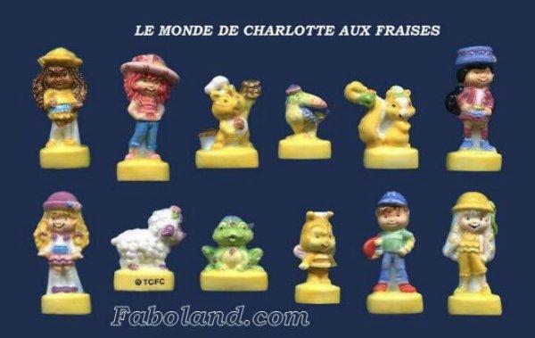 """Recherche les 3 collections """"Charlotte aux Fraises"""""""