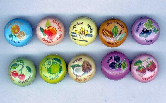 """Recherche la collection """"Macarons Couleurs Saveurs"""""""