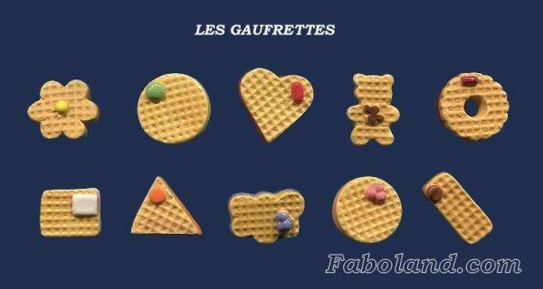 """Recherche la collection """"Les Gaufrettes"""""""