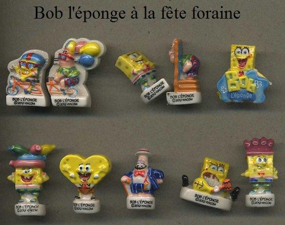 """Recherche les deux collections """"Bob l'Eponge"""""""