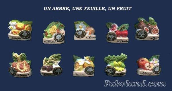 """Recherche toute la collection """"Un arbre, une feuille, un fruit"""""""