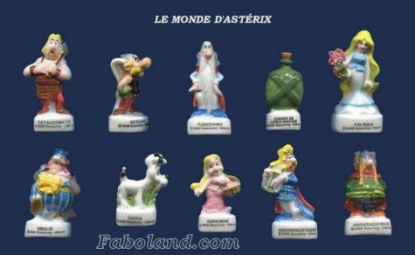 """Recherche la collection """"Le Monde d'Astérix"""""""
