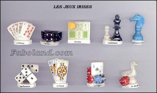 """Recherche la collection """"Les Jeux Irisés"""""""