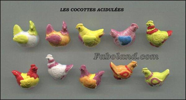 """Recherche la collection """"Les Cocottes Acidulées"""""""