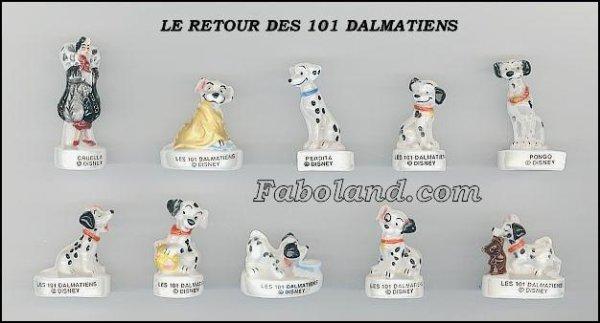 """Recherche la collection """"Le Retour des 101 Dalmatiens"""""""
