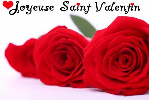 Joyeuse Saint Valentin à tous