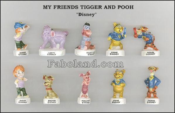 """Recherche toute la collection """"My Friends Tigger and Pooh"""""""