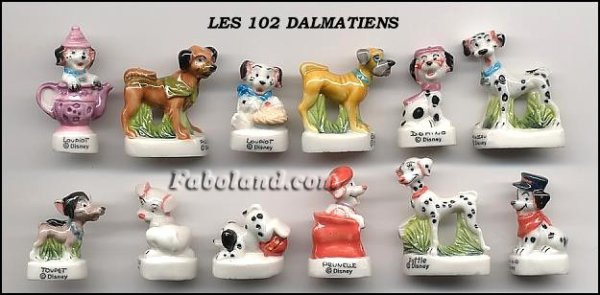"""Recherche toute la collection """"Les 102 Dalmatiens"""""""