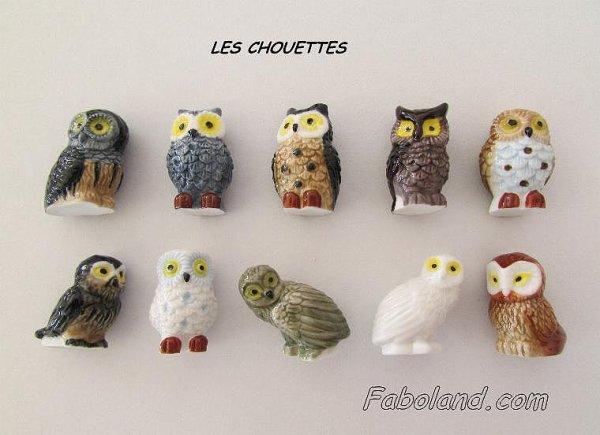 """Recherche toute la collection """"Les Chouettes"""""""