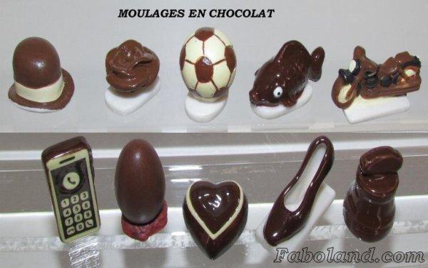 """Recherche toute la collection """"Les Moulages en Chocolat"""""""