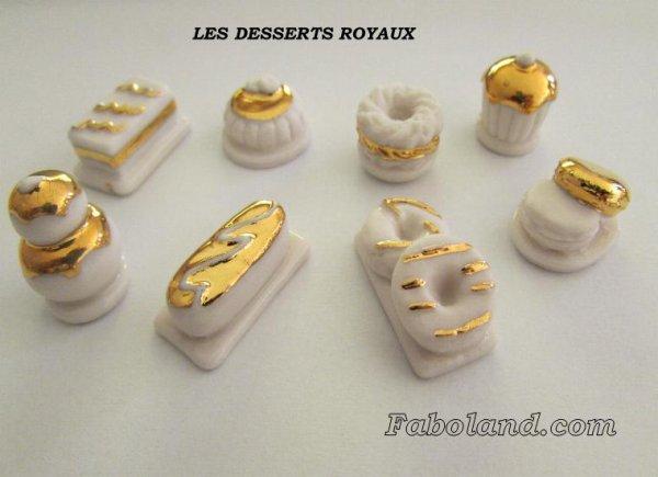 """Recherche toute la collection """"Les Desserts Royaux"""""""