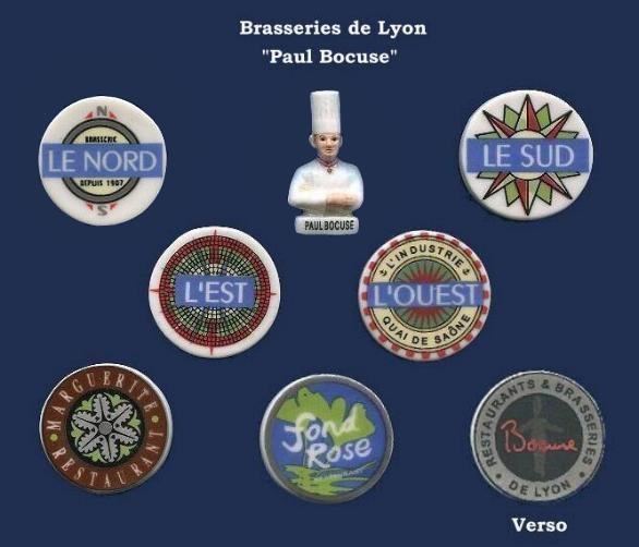 """Recherche toute la collection """"Brasserie de Lyon - Paul Bocuse """""""
