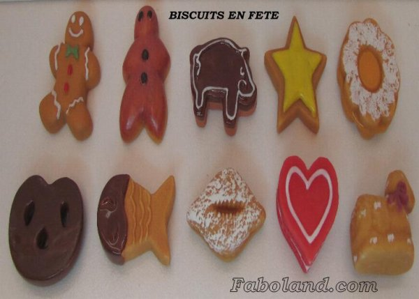 "Collection Personnelle ""Les Biscuits en Fête"""