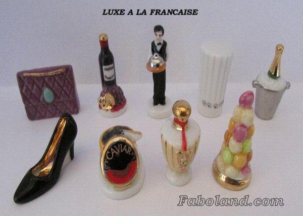 """Recherche toute la collection """"Luxe à la Française"""""""