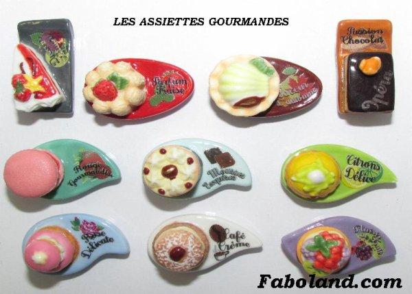 """Recherche toute la collection """"Les Assiettes Gourmandes"""""""