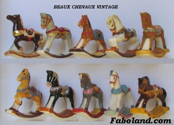"Collection Personnelle ""Chevaux Vintage"""