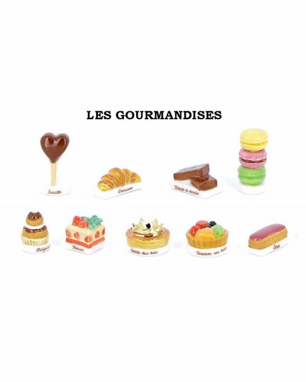 """Recherche toute la collection """"Les Gourmandises"""""""