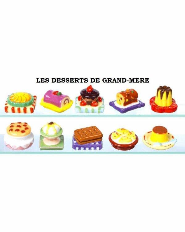 """Recherche toute la collection """"Les Desserts de Grand-Mère"""""""