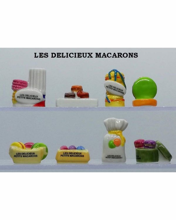 """Recherche toute la collection """"Les Délicieux Macarons"""""""
