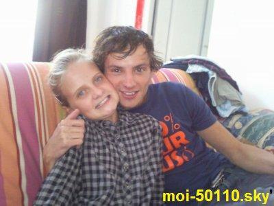 moi et mon frère Cédric **
