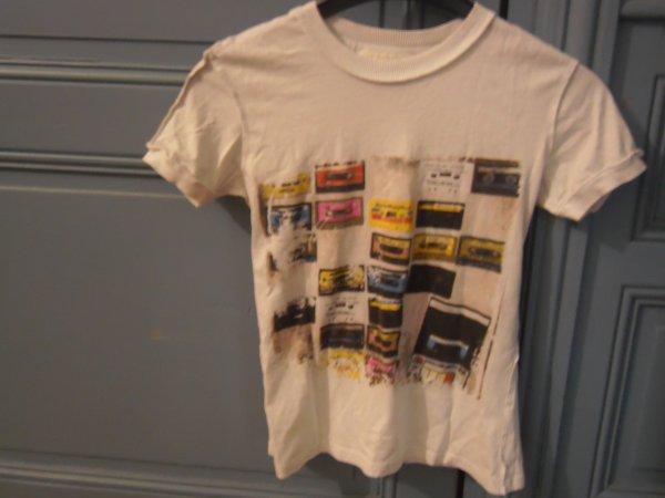 t shirt cassettes