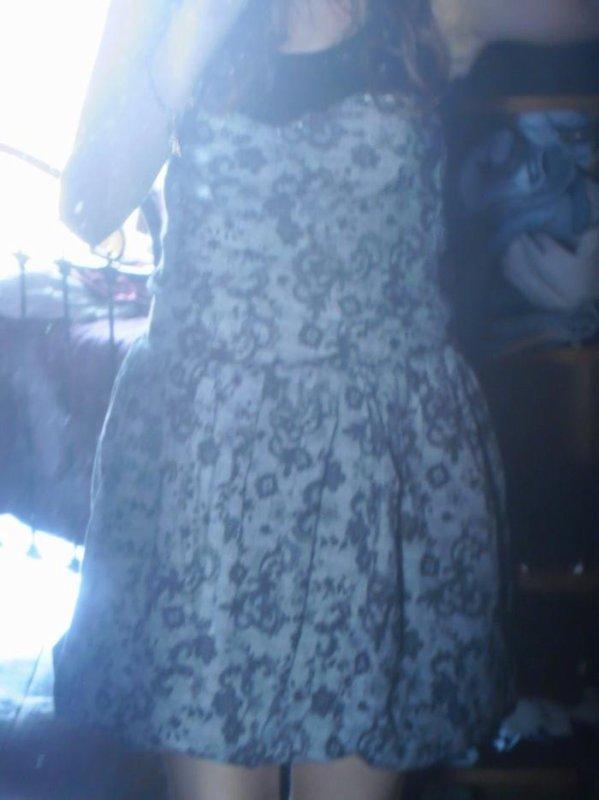 robe de soirée cloutée