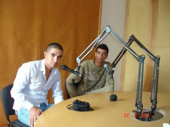 Mr Amine et  Slah Rap Au plateu Radio Radio plus