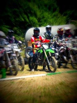 Les hommes font du foot, les Dieux du Motocross ♥