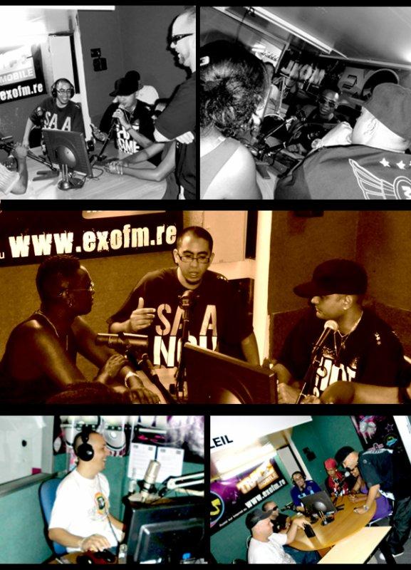 Interview à EXO FM pour la sortie de l'album de Masterbass