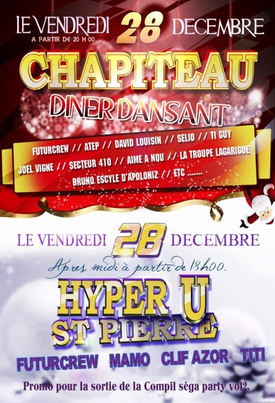 Deux rdv pour le vendredi 28 décembre. ON VOUS ATTEND !!!