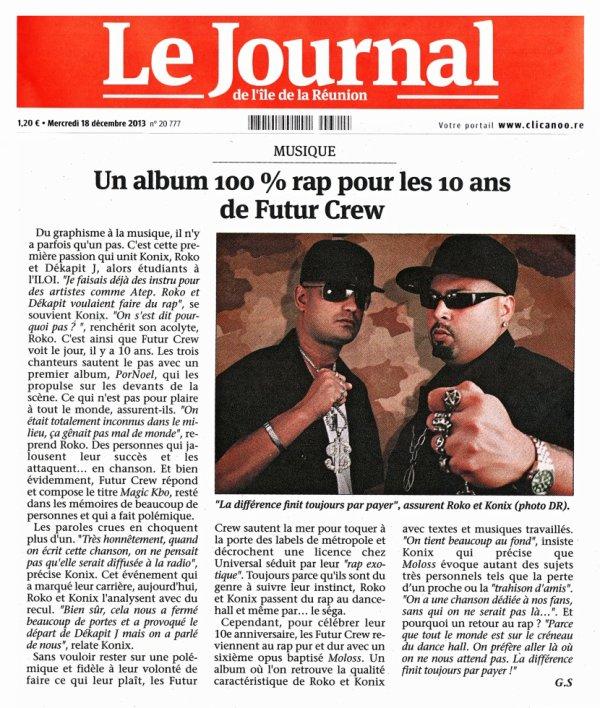 """Article """"JIR"""" Mercredi 18 décembre 2013"""