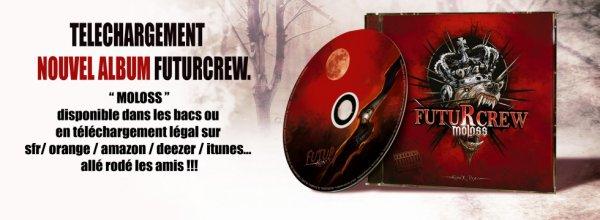 Nouvel album FUTURCREW - MOLOSS, en téléchargement !!!