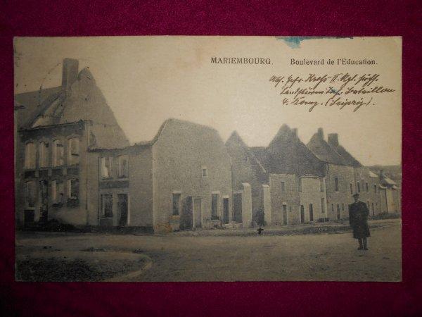 ma première carte postale de ma région ecrite par un soldat