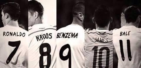 7, 8, 9, 10, 11 : c'est bon, cette année à FIFA 15 on va tous prendre le Réal Madrid, obligé :') ❤️❤️