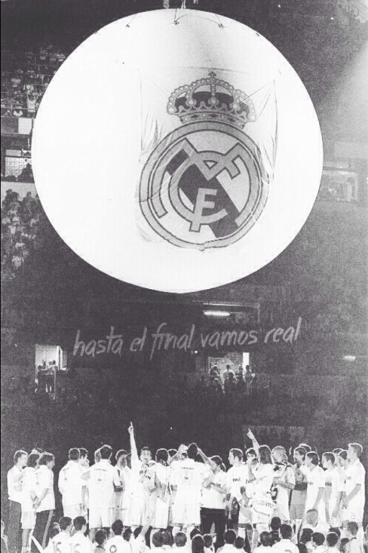 Be awesome, be Madridista ❤️❤️