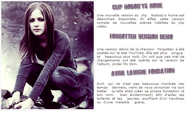 Rubrique : musique & divers.