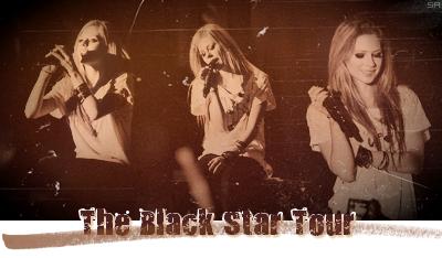 Rubrique : tournée Black Star Tour.