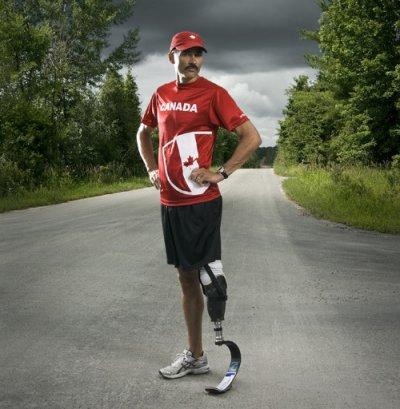 Record du monde du marathon chez les amputés tibiaux