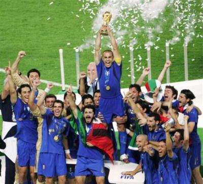 L 39 italie gagne la coupe du monde en 2006 vive le foot - Coupe du monde de foot 2006 ...