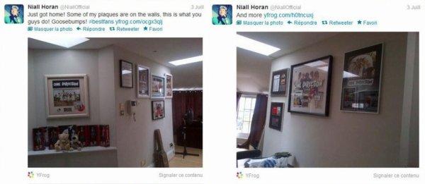 Niall a tweeter ça hier !