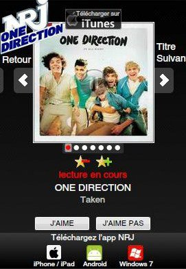 NRJ One Direction ♥