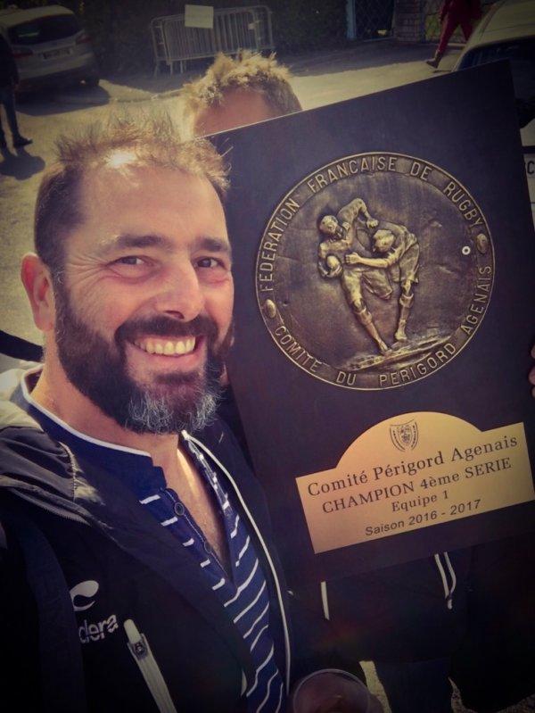 Champion en 4eme série 2016 2017