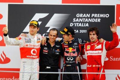 Vettel fait cavalier seul