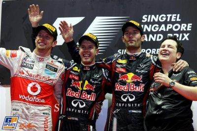 Vettel a un point d'un nouveau sacre