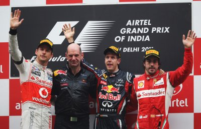 Vettel toujours triomphant