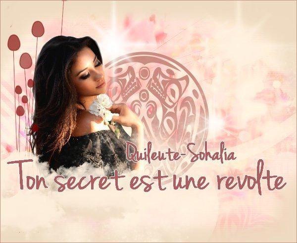 Ton secret est une révolte