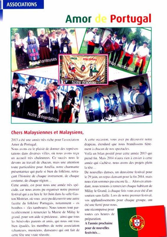 Article paru dans la gazette de Malay le Grand
