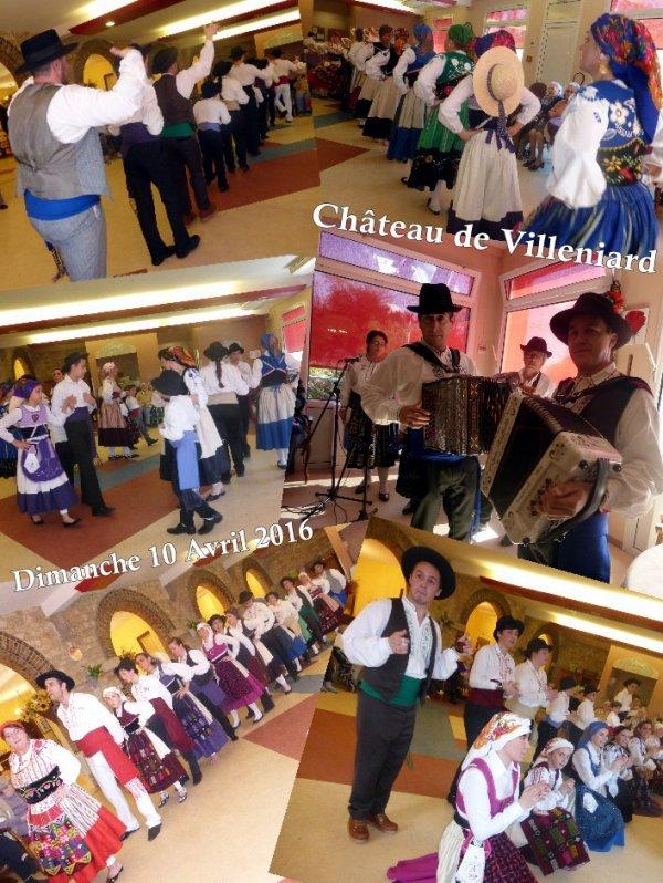 """EHPAD """"Le Château de Villeniard"""" (10.04.16)"""